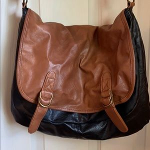 Large Leather Cross Body Bag